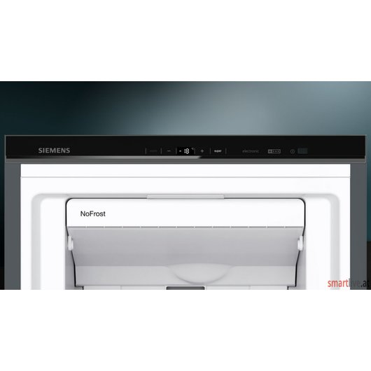 Siemens Gefrierschrank black inox-antifingerprint iQ500 GS36NAX3P