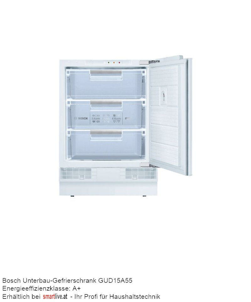 Bosch Unterbau-Gefrierschrank GUD15A55