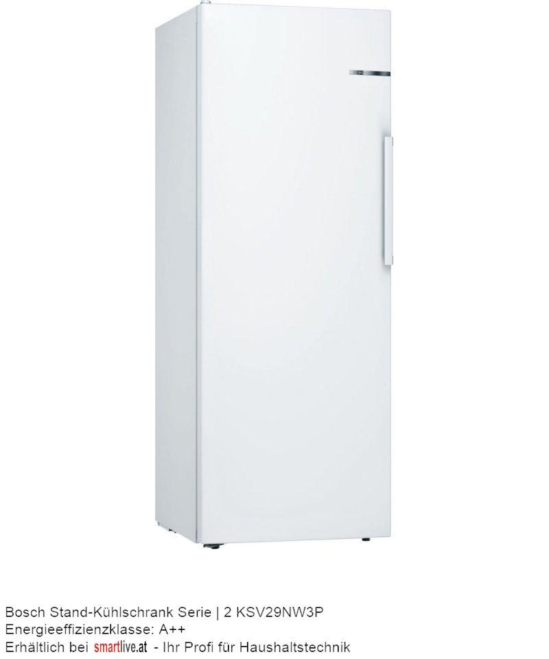 Bosch Stand-Kühlschrank Serie | 2 KSV29NW3P