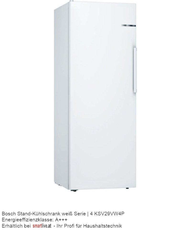 Bosch Stand-Kühlschrank weiß Serie | 4 KSV29VW4P