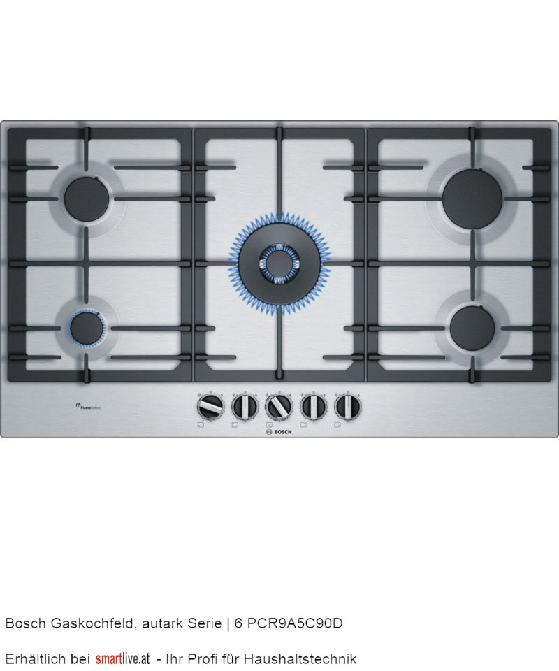 Bosch Gaskochfeld, autark Serie | 6 PCR9A5C90D