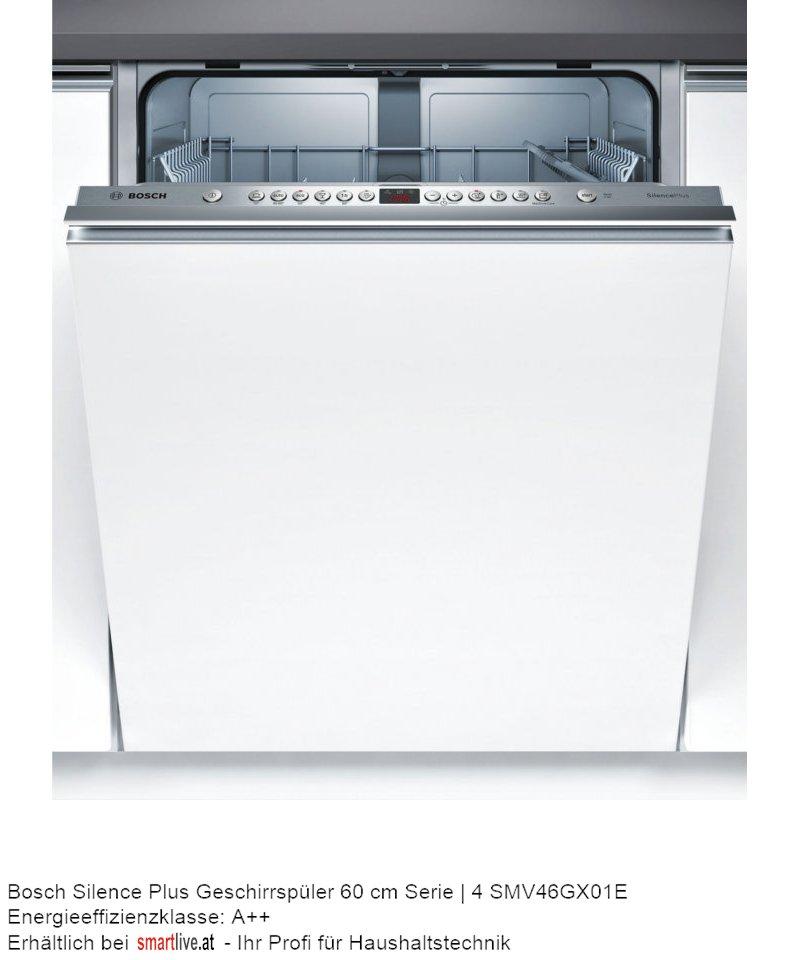 Bosch Silence Plus Geschirrspüler 60 cm Serie | 4 SMV46GX01E